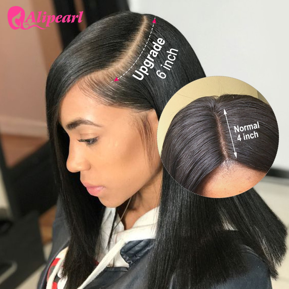 13x6 Lace Front Human Hair Wigs Ple Plucked For Black Women 130% 180% 250% Density Remy Brazilian Straight Ali Pearl Lace Wigs Lace Wigs Hair Extensions & Wigs