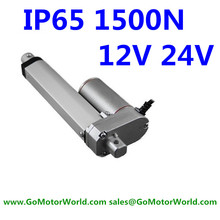 water proof 12V 24V 150mm adjustable stroke 1500N 330LBS load 6mm/s speed heavy duty industry linear actuator LA10B hot sell wholesale 12 48v 150mm 6 inch linear actuator 7000n 12v 700kg load 5 25mm s customized speed mini electric 24v tubular motor