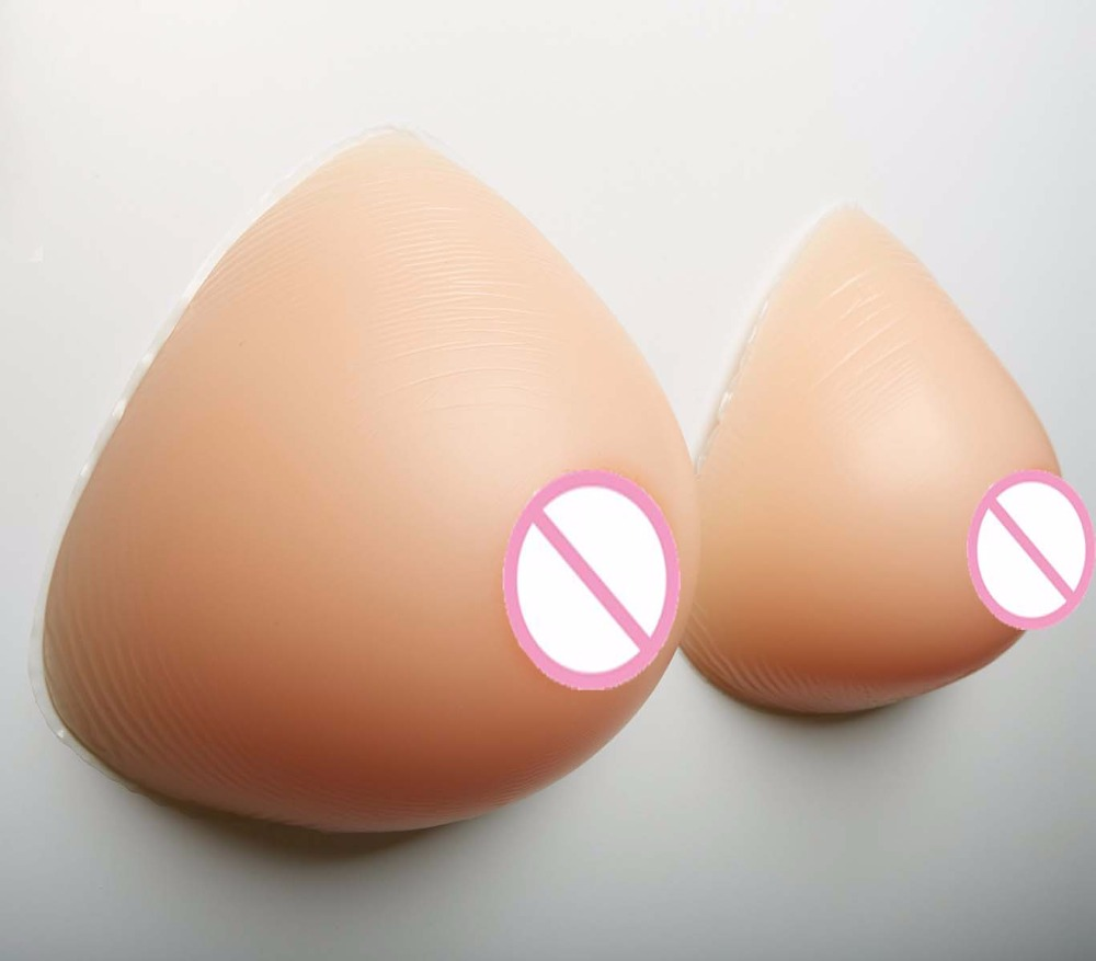 4100g/pair Artificial Breast Forms Silicone Boobs Transgender false breasts 42 44 46 H I cup HUGE SIZE urban forms