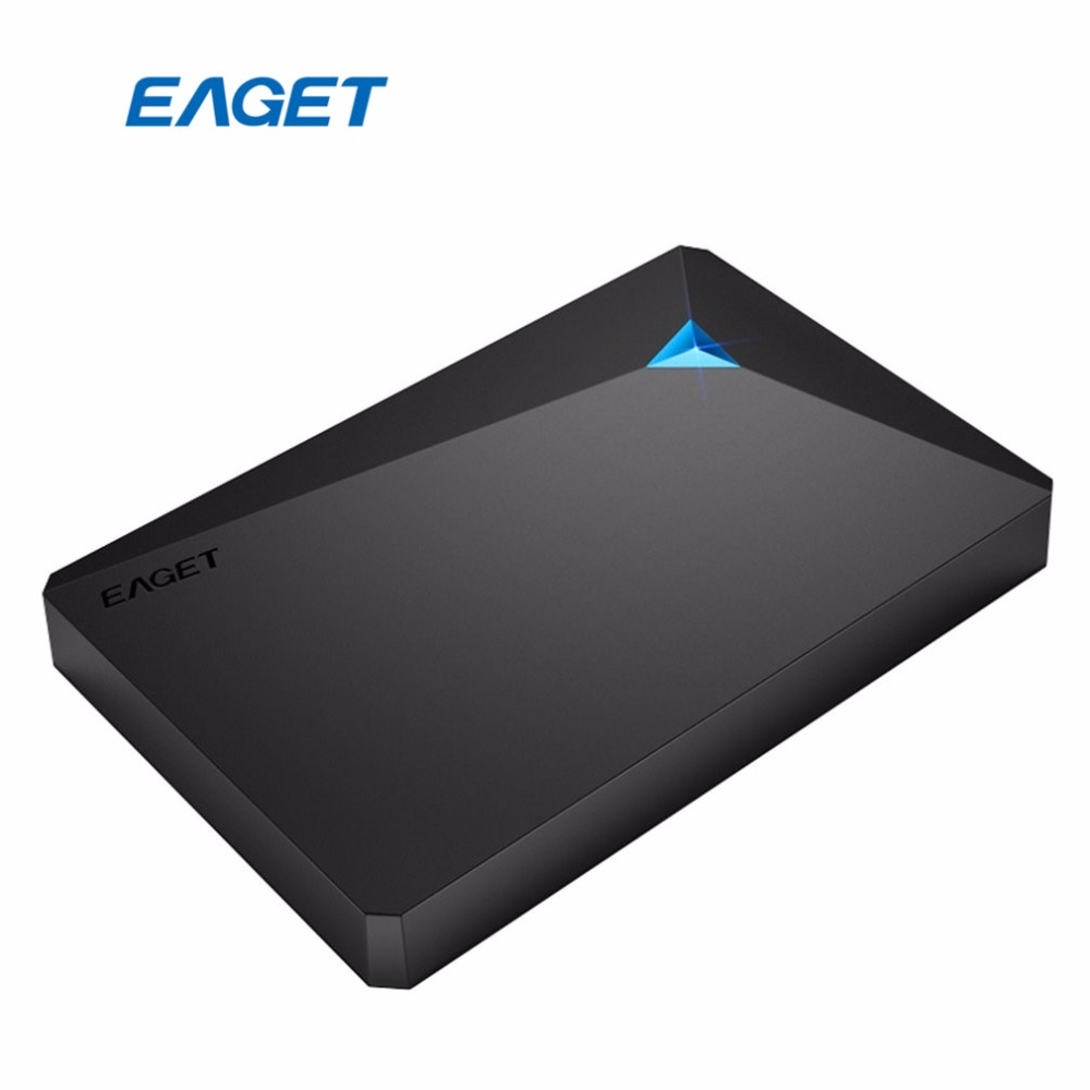 EAGET G20 External Hard Drive HDD Type Encryption Hard Disk 500GB 25 USB 30 Interface Ultra-fast Read-Write Speed Shockproof