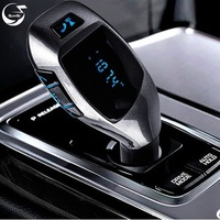 Bluetooth Car Kit MP3 Player Wireless FM Transmitter Radio Adapter Car Charger Handsfree Phone Speaker Support