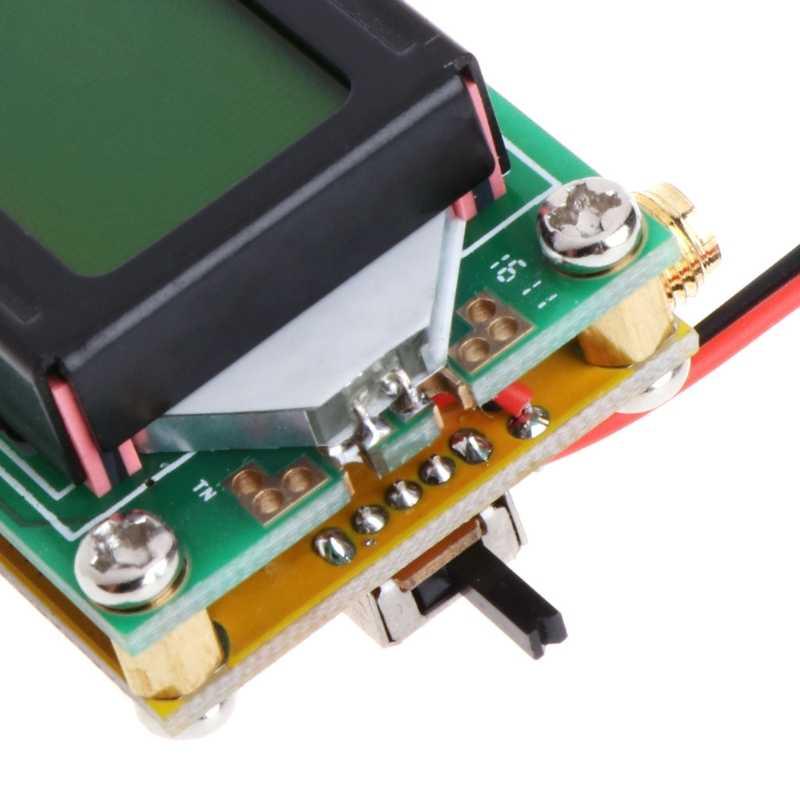 Bricolage haute précision et sensibilité 1-500 MHz Module de compteur de fréquence Hz testeur Module de mesure pour LCD-m18 Radio jambon