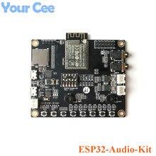 ESP32 Audio Kit ESP32 Ses Geliştirme Kurulu WiFi Bluetooth Modülü Düşük Güç Çift çekirdekli ESP32 A1S 8 M PSRAM Seri wiFi