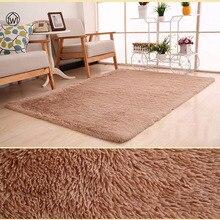 Textiles para el hogar salón carpet tamaño grande alfombra de pelo largo sofá dormitorio alfombra mesa de té carpet dormitorio mat 40 * los 60cm-80*200 cm pad Morden
