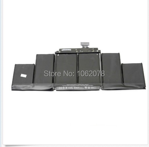 """НОВАЯ Батарея Для Apple A1417 MacBook Pro A1398 15 """"2012 2013 Retina MC975LL/A MC976LL/A MD831LL/а ME665LL/Me664ll/"""
