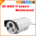 Waterproof Night Vision Outdoor 1080P 2.0MP Bullet IP Camera Infrared Security ONVIF 2.0 P2P Plug and Play IP Cam
