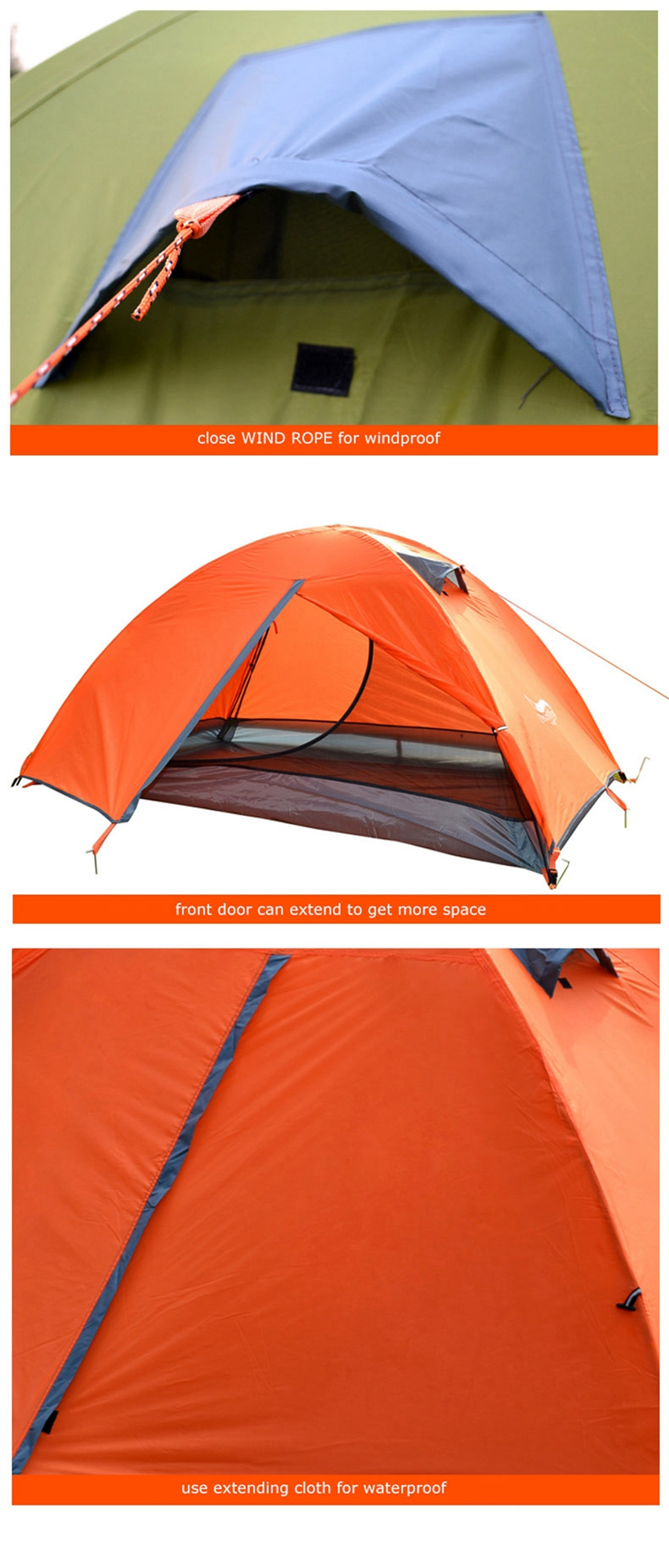 Desert & raposa mochila tenda