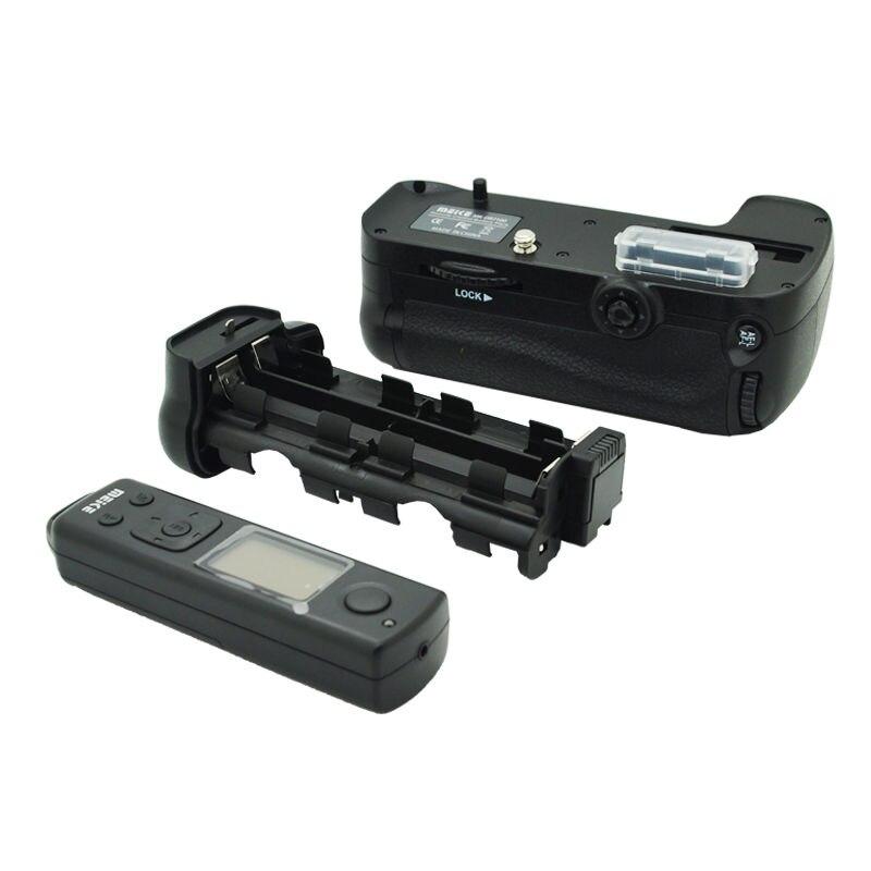 лучшая цена Meike MK-DR7100 Remote Control Battery Grip For Nikon D7100 D7200 as MB-D15