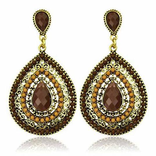 Big Long Earrings Drop Crystal Vintage Earrings For Women from india - Κοσμήματα μόδας - Φωτογραφία 4