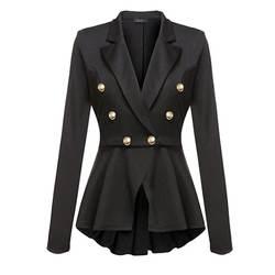 Sisjuly черный, белый цвет розовый красный цвет желтый, синий; размеры 34–43 фиолетовый хаки Для женщин работы формальный пиджак пальто на весну