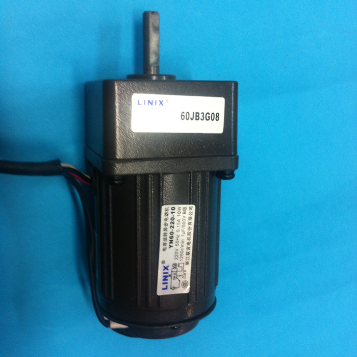 5 lines Adjustable speed LINIX Gear reducer motor 60JB3G08 YN60-220-10 220V 10W Deceleration new original speed gear в луганске