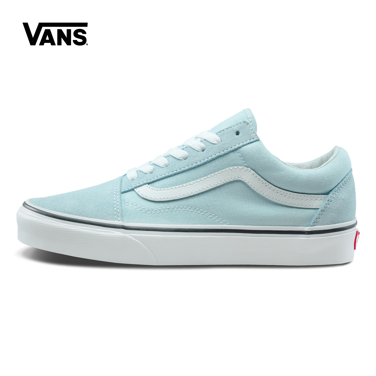 Original New Arrival Vans Womens Classic Old Skool Low-top Skateboarding Shoes Sneakers Canvas Comfortable VN0A38G1Q6K/Q6L