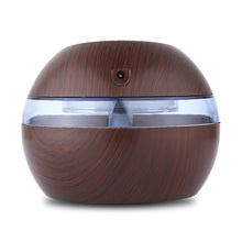 USB Ultrasonic Wooden Oil Diffusers