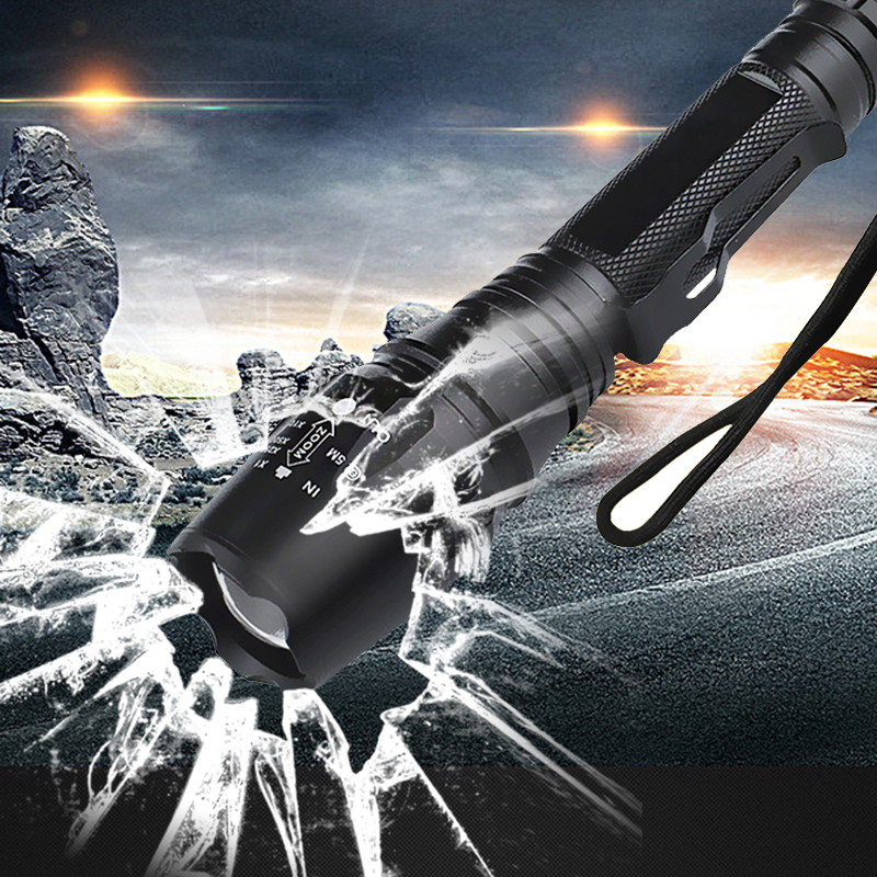 Z30 LED Flashlights Torch 8000 Lumen CREE XM-L2 Zoomable Led Torch match with 2x18650 battery Aluminum Led Flashlight Linternas cree xm l t6 bicycle light 6000lumens bike light 7modes torch zoomable led flashlight 18650 battery charger bicycle clip