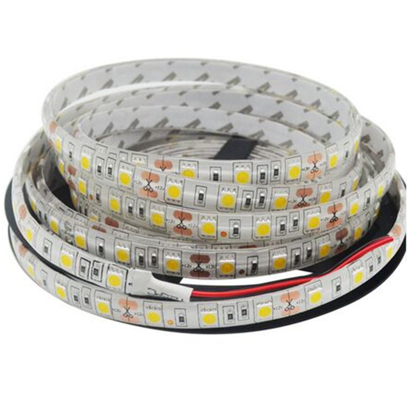 5050SMD Led Zolaqlı Lampa 5m / çox 60led / m DC12V IP65 Çevik - LED işıqlandırma - Fotoqrafiya 2