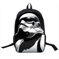 3D Yoda Backpack For Teenagers Girls Boys School Bag Star Wars Children Book Bags Jedi Sith