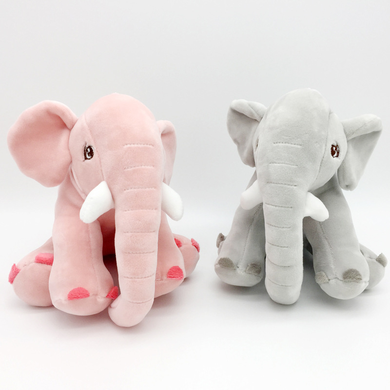 20 CM Baby Cute Elephant Plush Stuffed Toy Doll Soft Animal Plush Toy| |   - AliExpress