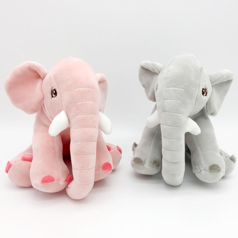20 CM Baby Cute Elephant Plush Stuffed Toy Doll Soft Animal Plush Toy
