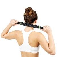 Pro полезные Спорт Тренажерный зал массажер Йога ролика Придерживайтесь триггерный Средства ухода за кожей массаж мышц расслабиться стержн...