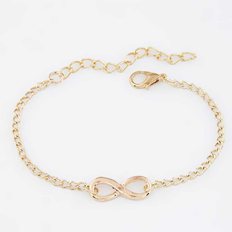 1 sztuk moda prezent bransoletka dla kobiet bransoletki słodkie panie bransoletki dziewczyny wisiorki serca Pulseras biżuteria akcesoria 2019