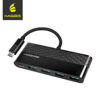 Hagibis USB 3 0 Hub 4 Ports Super Speed Type C To USB 3 0 HUB
