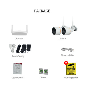 Image 5 - Wetrans אבטחת CCTV המצלמה מערכת HD 1080 P Wifi מיני NVR ערכת מעקב וידאו בית IP אלחוטי סט אודיו חיצוני