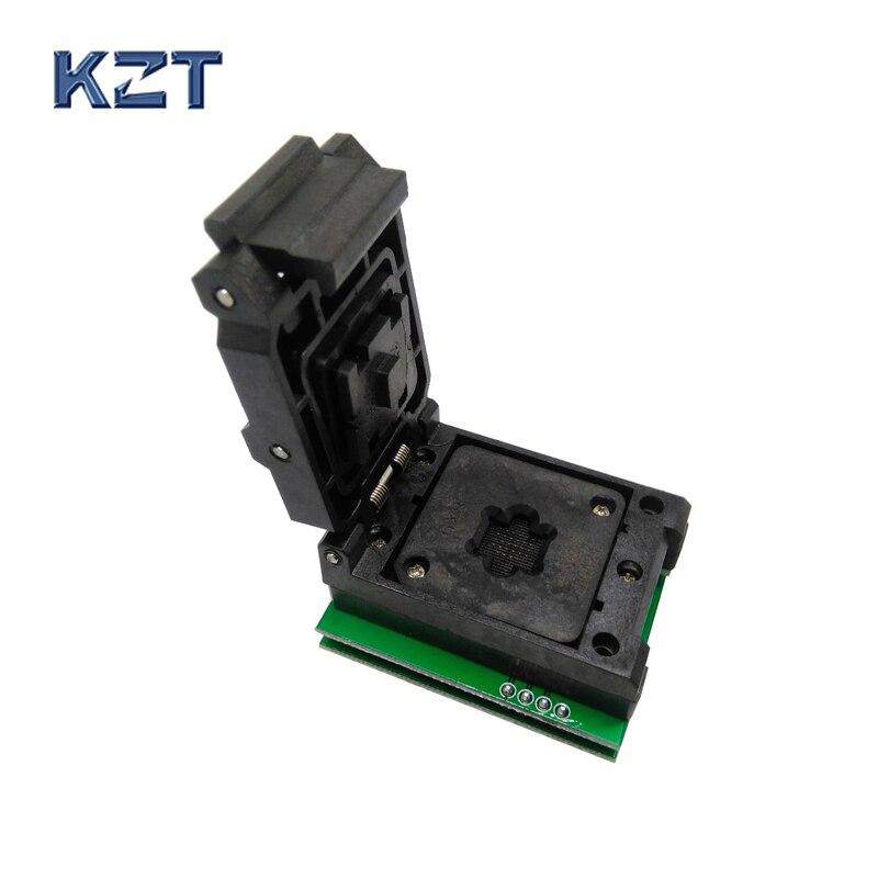 BGA24 à DIP8 IC adaptateur prise pour 8x6mm largeur du corps BGA puces SMT/SMD prise de Test