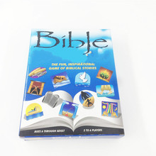 Bible Family Card game adults and children 2-6 people entertainment series games English board game lucy english selfish people