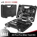 BIKE HAND 18 in 1 Fahrrad Reparatur Tools Kit Box Set Multi MTB Reifen Kette Reparatur Werkzeuge Speichenschlüssel Kit hex Schraubendreher Bike Werkzeuge