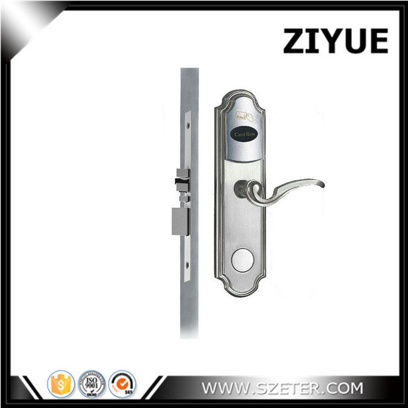 Smart Design RF Card Digital Door Lock Intelligent Hotel Lock ET301RF intelligent rf card lock system for hotel electric lock