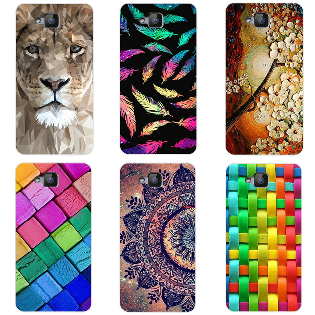 Soft Silicone Capa For Huawei Ascend XT Case 6.0 inch Printing TPU Phone Case Cover For Huawei Ascend XT H1611 Funda