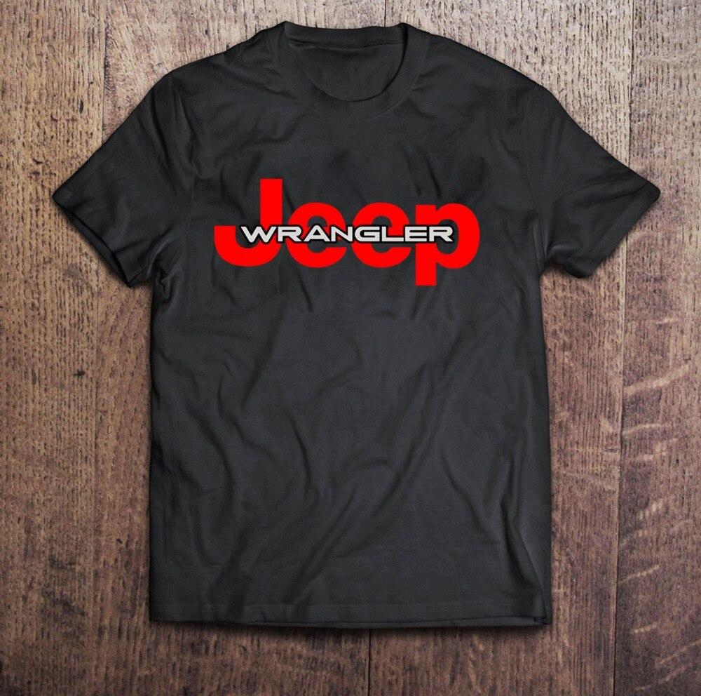 2018 New Summer Tee Shirt SS Jeep Sahara Black T-shirt Mens Tshirt S to 3XL Fashion T-shirt
