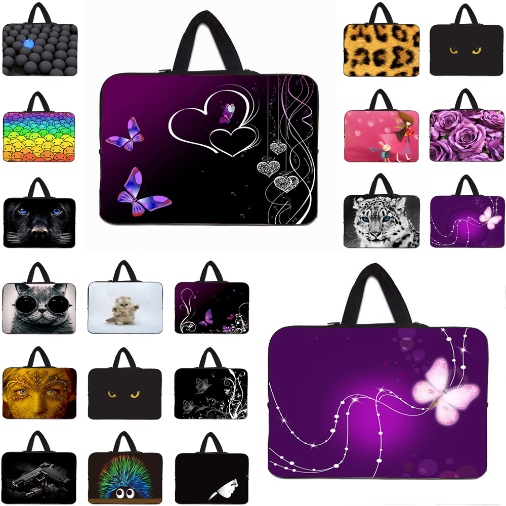 Viviration 2018 Promotion 10 Inch 12 11.6 13 14 15 17 Laptop Sleeve Carry Neoprene Bag Case for Macbook Air 11 13.3 Pro 15.4 PC