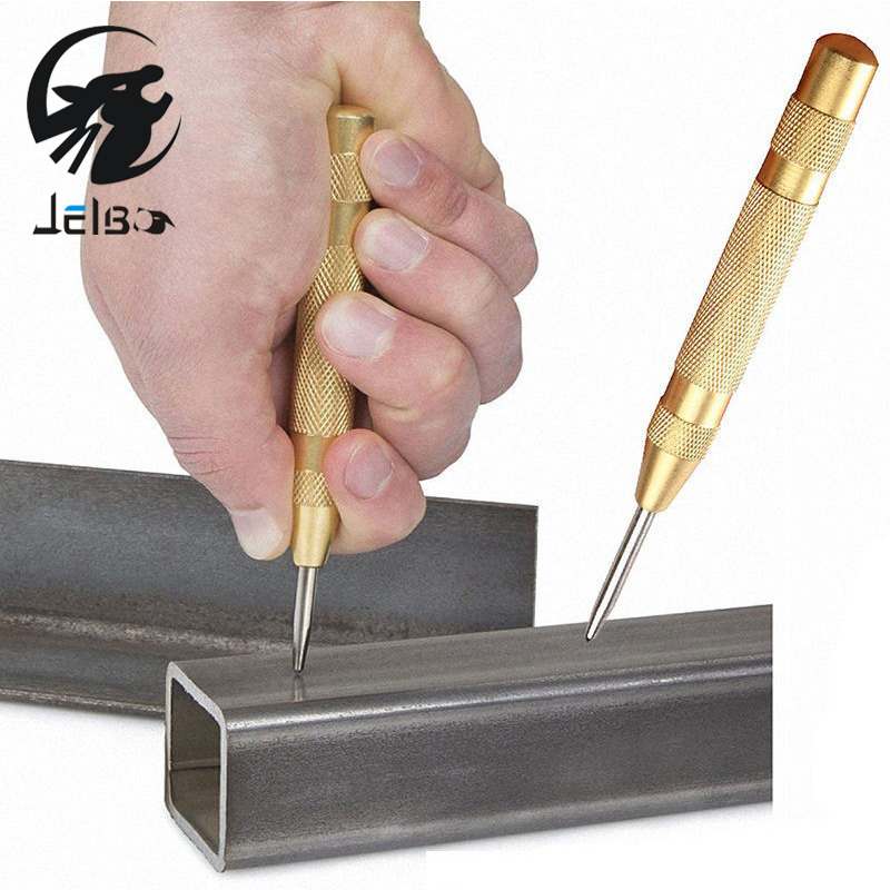 Jelbo Drill Automatic Center Pin Punch Drill Bit Tools Power Tools Spring Loaded Marking Starting Holes