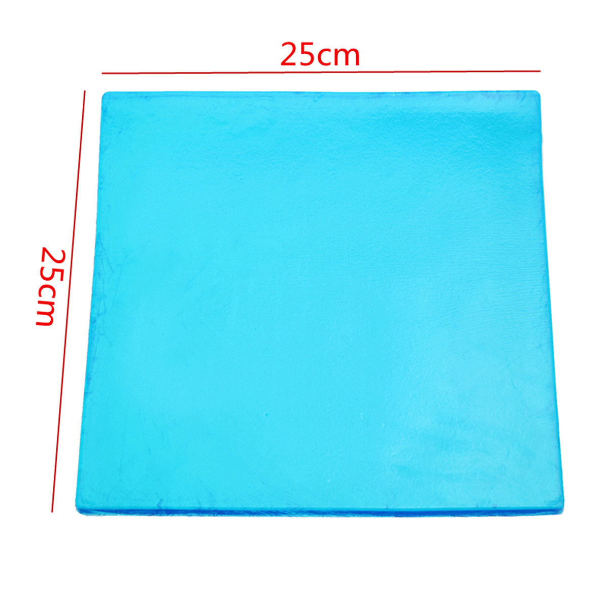 New DIY Modified 1cm Thickness Damping Silicone Gel Pad Motorcycle Seat Cushion Comfortable Mat shock absorption Mats 25x25cm
