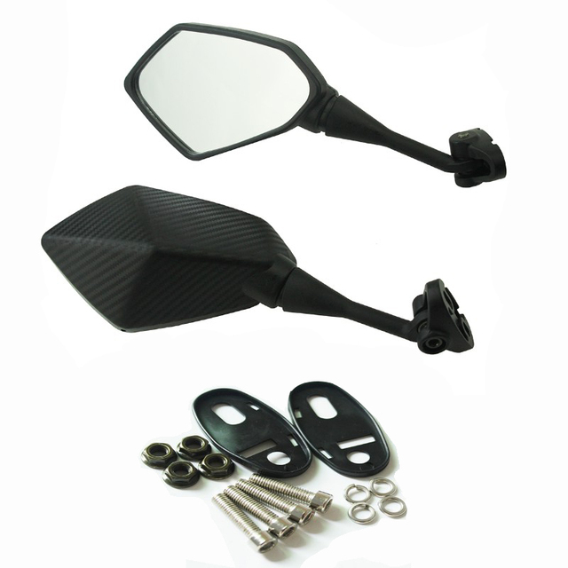 Motorcycle Mirrors Racing Sport Bike Rear View Mirror For HONDA CBR 900 919 929 600RR HYOSUNG GT125R 650 R S Kawasaki Ninja 250R