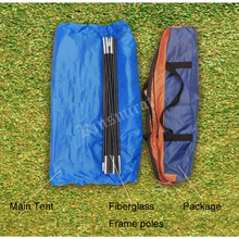 Outdoor Camping Tent 2 Person For Hiking Trekking Backpacking Fishing Three-Season Tent Polyester PU Coating Tourist Tent