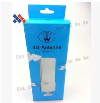 4 Г LTE беспроводной маршрут W425 25dBi TS9 присоски антенна 4 Г с высоким коэффициентом усиления wi-fi антенны