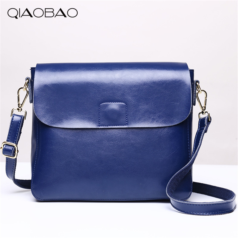 QIAOBAO 100% genuine leather bags ladies cowhide totes female designer fashion big women brown bags crossbody 4 colors qiaobao 100% genuine leather women s messenger bags first layer of cowhide crossbody bags female designer shoulder tote bag