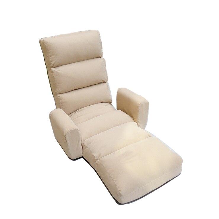 living room indoor multifunctional furniture armchair armrest floor folding modern recliner chaise lounge single sofa chair chaise lounge sofa modern