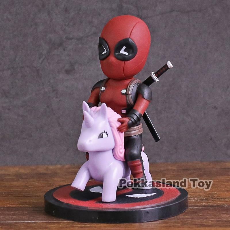 Beast Kingdom  Comics Deadpool Mini Egg Attack Series PVC Action Figure Collectible Model Toy