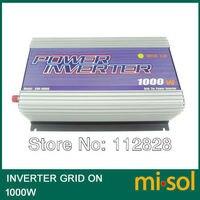 Grid Tied Inverter for photovoltaic system 1000W, 22V 60VDC Input,120V AC Output