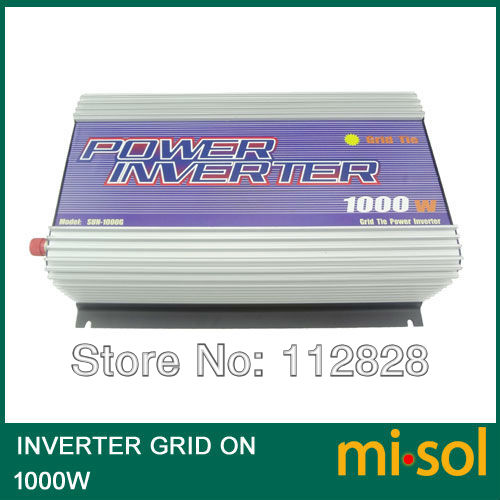 Grid Tied Inverter for photovoltaic system 1000W, 22V-60VDC Input,120V AC Output micro inverters on grid tie with mppt function 600w home solar system dc22 50v input to ac output for countries standard use