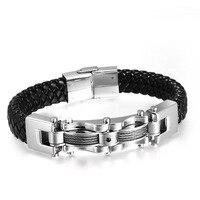 Hand Jewelry Japan And South Korea Trade New Men S Personality Titanium Steel Bracelet Popular Anti