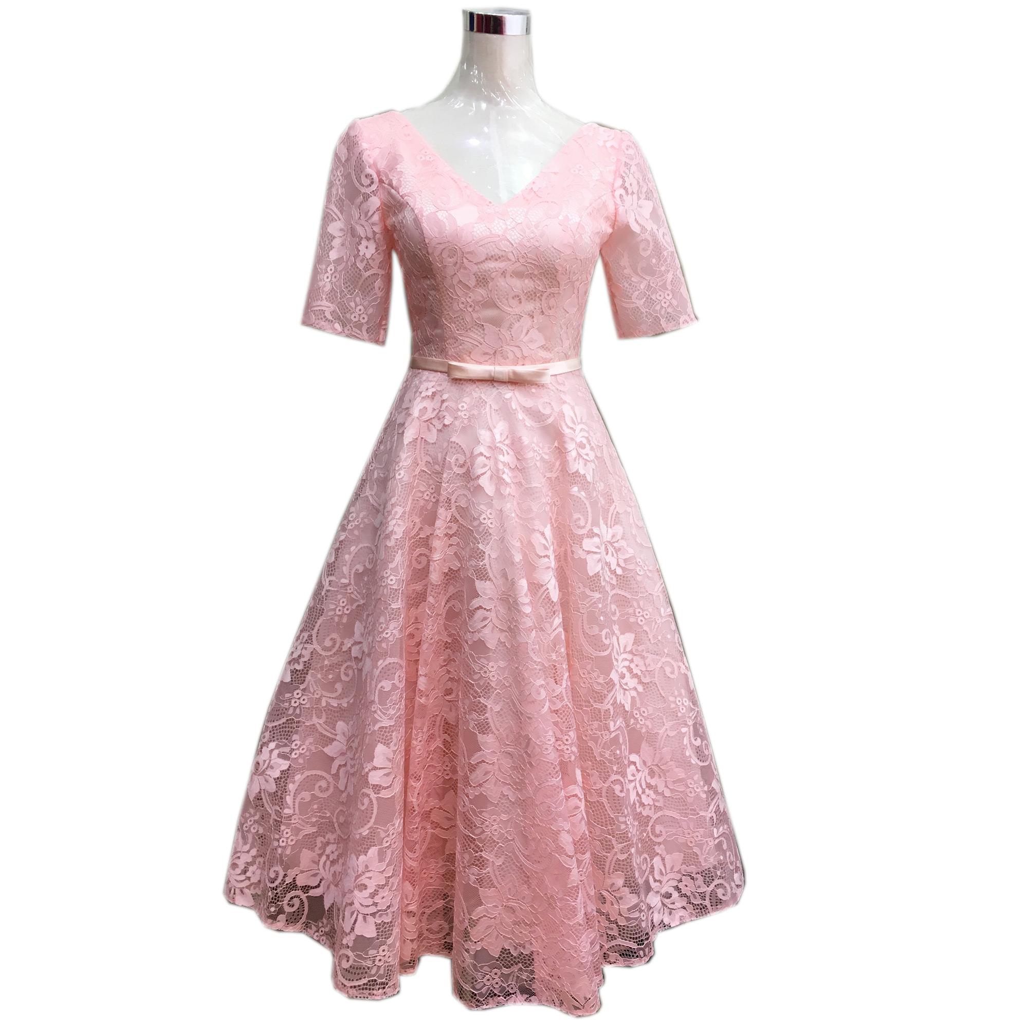 Online Get Cheap Champán Vestidos De Color Rosa -Aliexpress ...