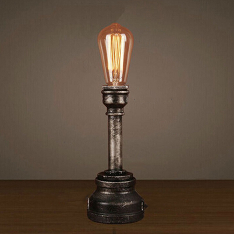 Table Lamp With Edison Bulb