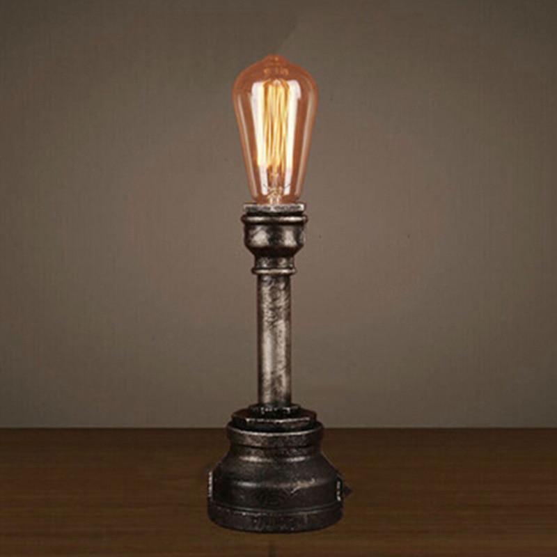 Table Lamp With Edison Bulb | Atcsagacity.com