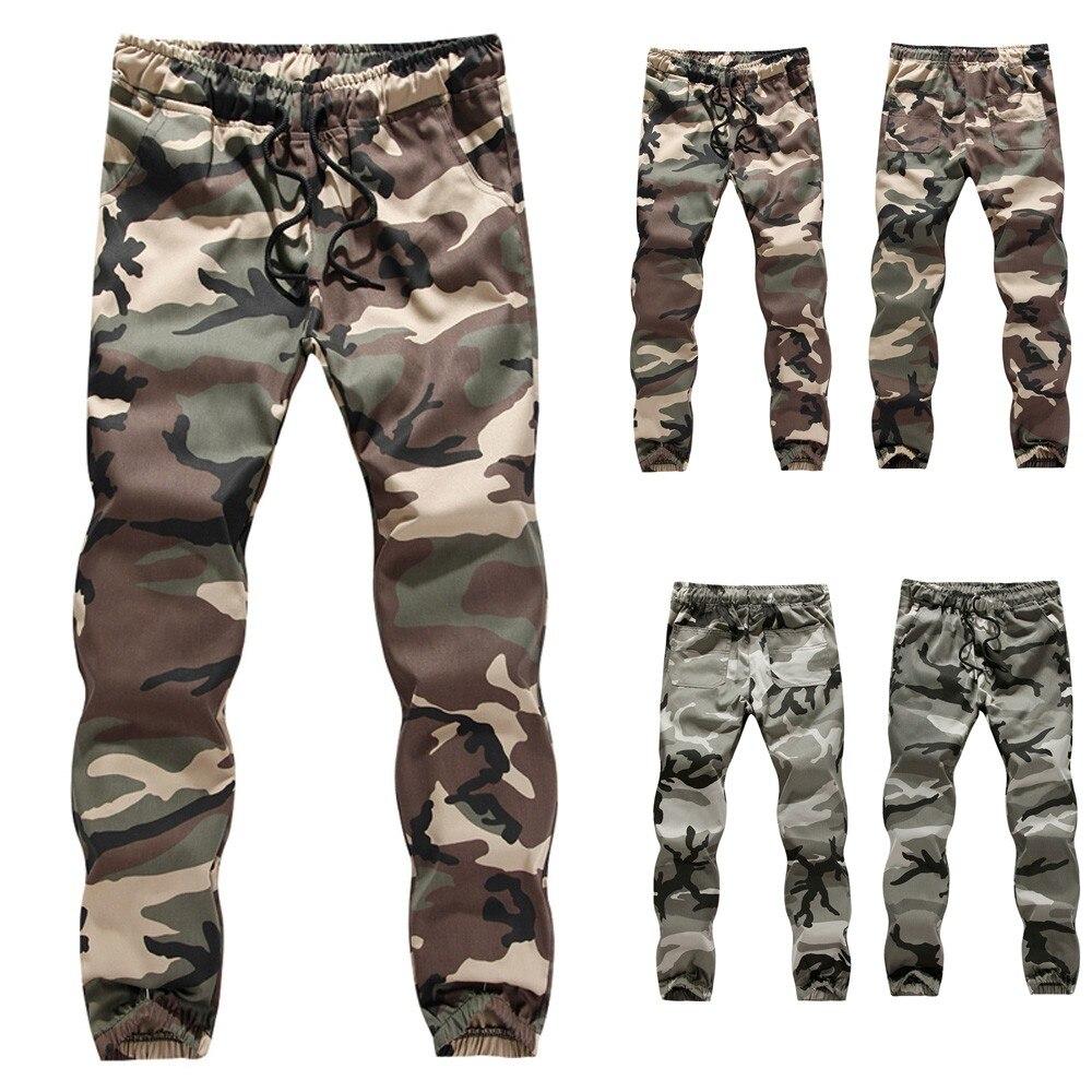 Mens Casual Jogger Camo Sportwear Soft And Comfortable Baggy Harem Pants Slacks Trousers Sweatpants L50/0205