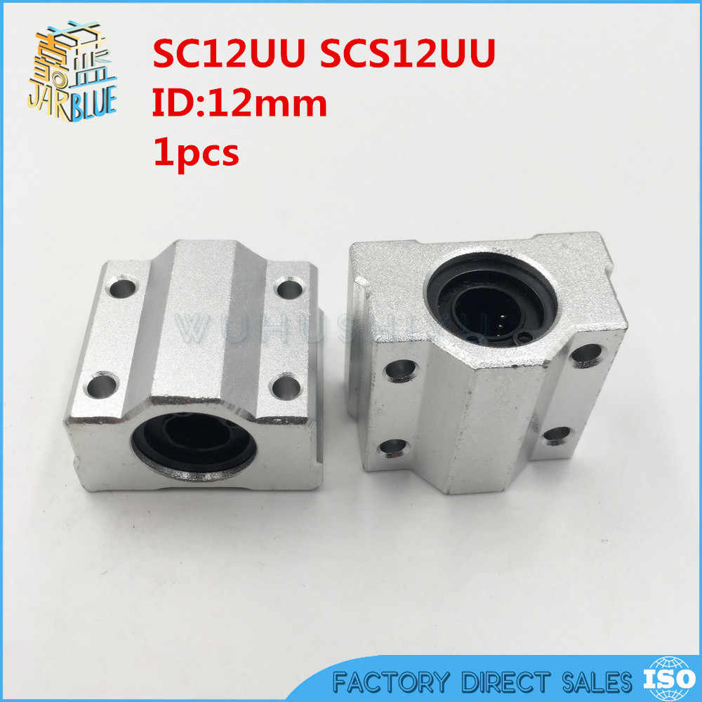 SC12UU SCS12UU Linear motion ball bearings slide block bushing for 12mm linear shaft guide rail CNC parts