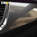 DIY 50cmx200cm Car Sticker 5D High Glossy Film Change Color Auto Exterior Carbon Fiber Accessories Interior Film Car Styling